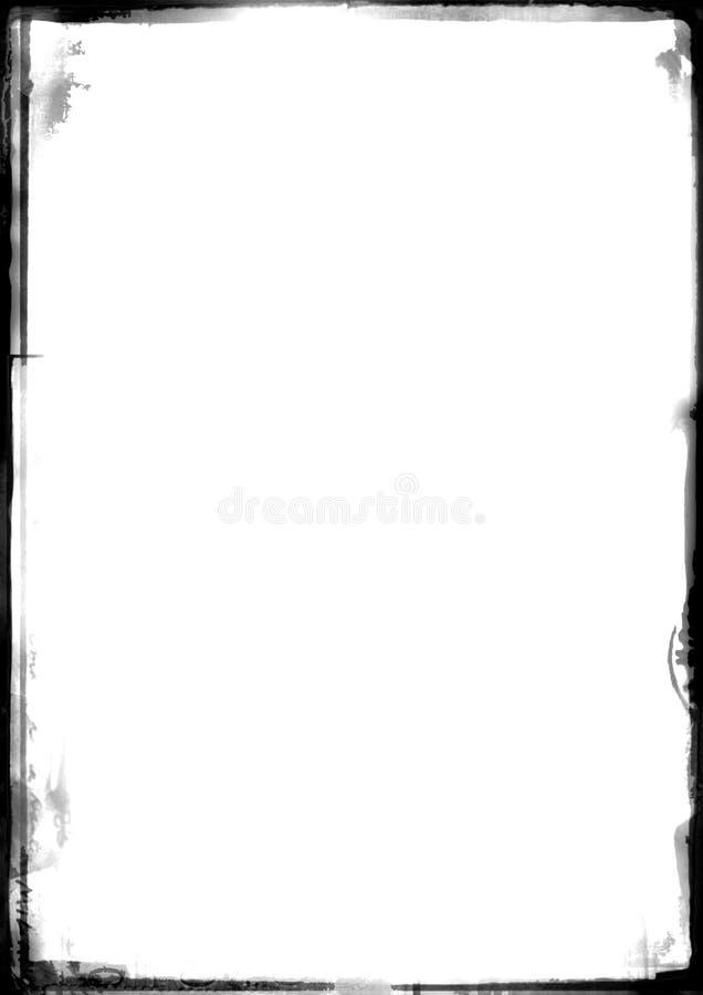 Warme oude grens vector illustratie
