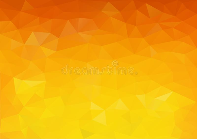 Warme Tone Color Pattern stock illustratie