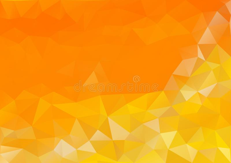 Warme Tone Color Pattern royalty-vrije illustratie