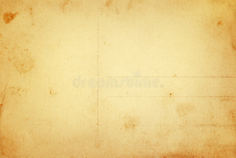 Warme uitstekende prentbriefkaar stock afbeelding