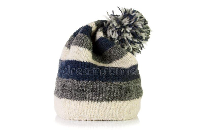Warme wollige hoed royalty-vrije stock afbeeldingen