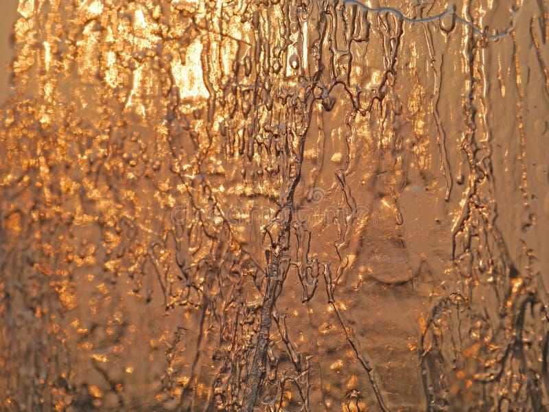 Warmes Eis stockfotos
