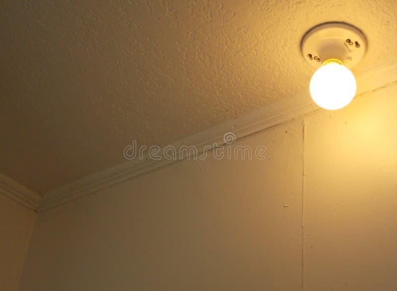 Warmes gelbes Licht für Hintergrund oder Kopie stockfotos