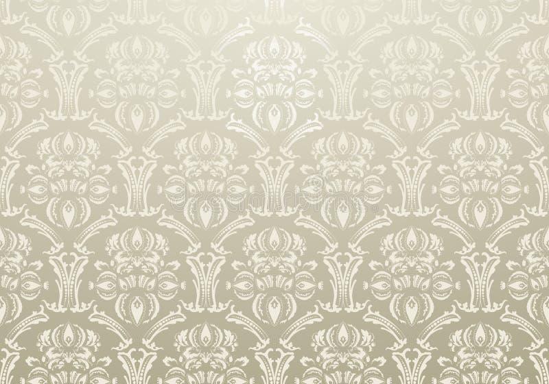 Warmes Grau warmes grau der textiltapete vektor abbildung illustration