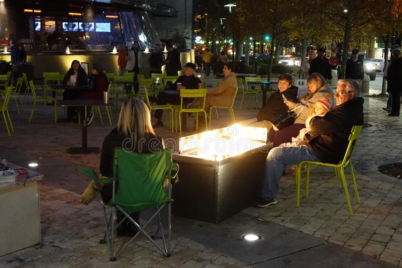 Warming Around The Fire Free Public Domain Cc0 Image