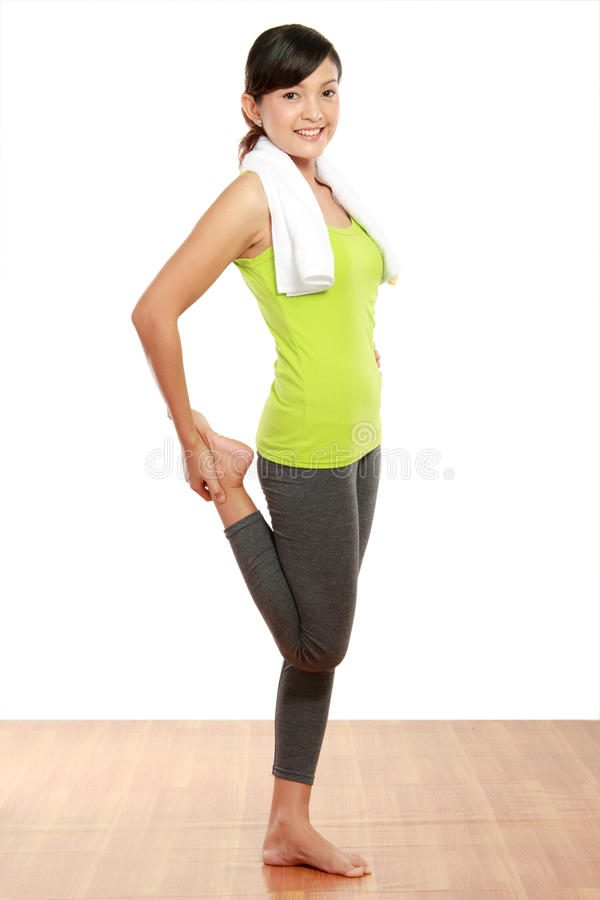 Download Warming up stock photo. Image of relax, exercise, slim - 23364668