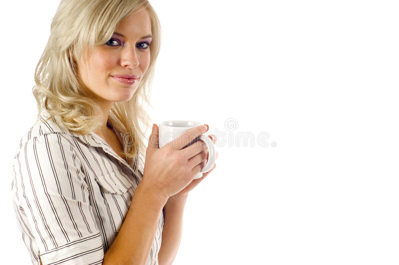 Download Warming Up with Coffee stock photo. Image of heat, people - 12287670