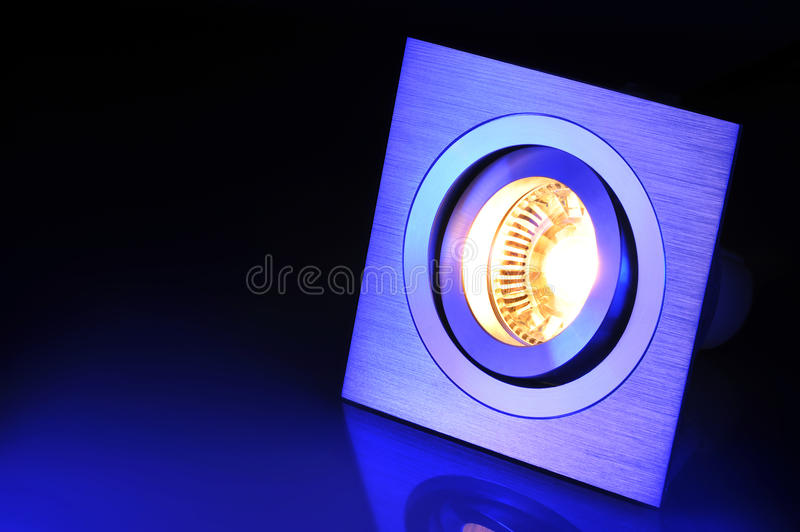 Warmwhite COB-LED imagem de stock royalty free