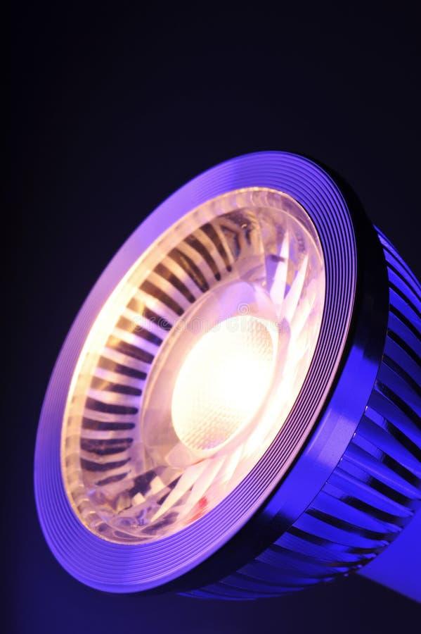 Warmwhite COB-LED imagens de stock