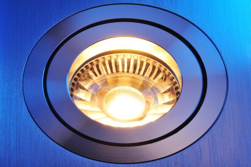 Warmwhite COB-LED imagens de stock royalty free