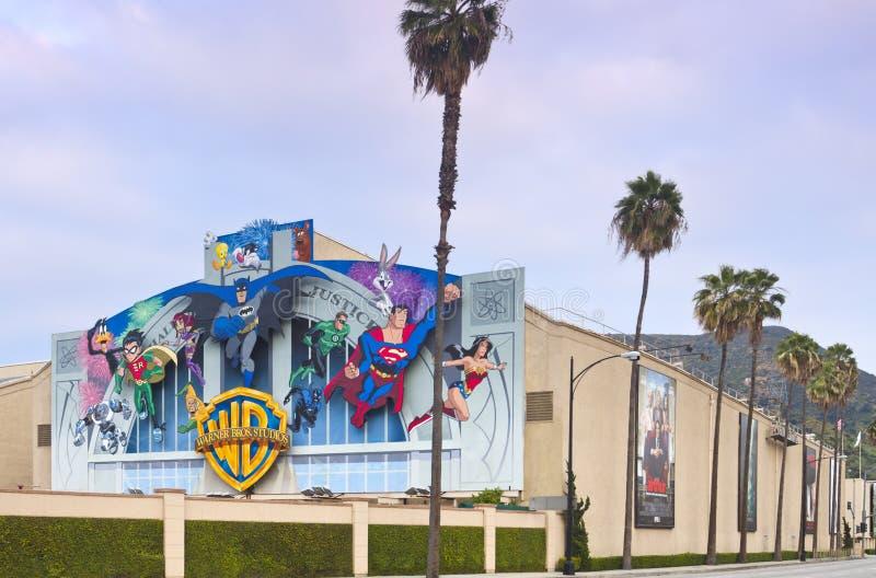 Warner Bros. Film Studio in Burbank, CA stock photography