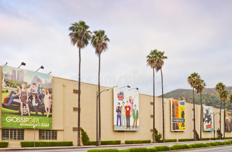 Warner Bros. Film Studio In Burbank, California Editorial Image