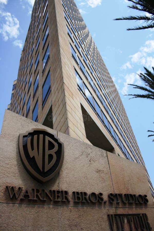 Warner Bros headquarter in California royalty free stock images