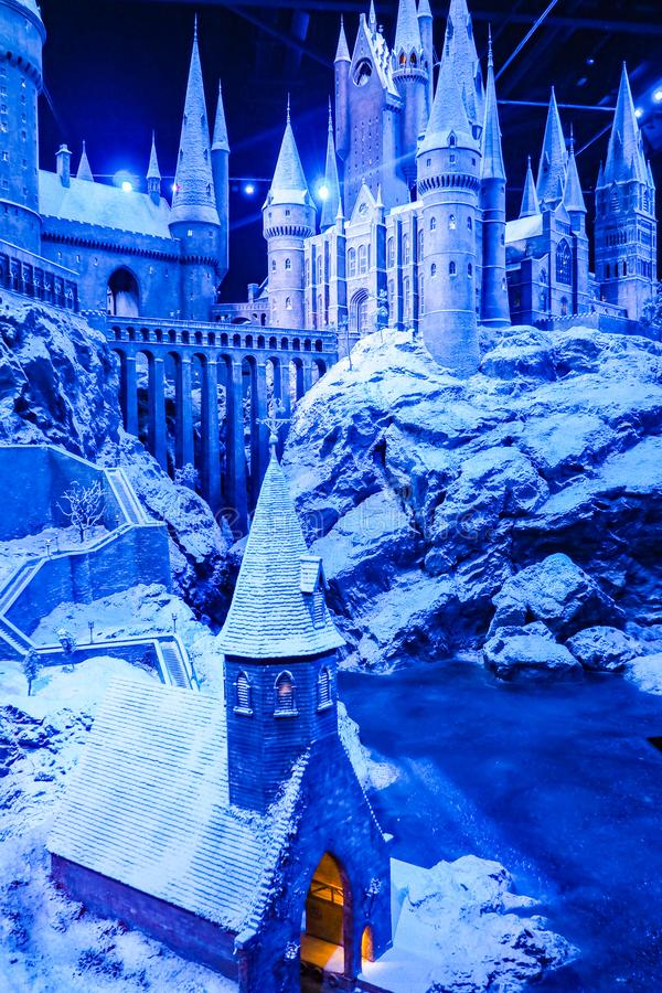 The Making of Harry Potter is a public attraction in Leavesden, London, UK which preserves and showcases the iconic props. Warner Bros. Studio Tour - The Making stock photos
