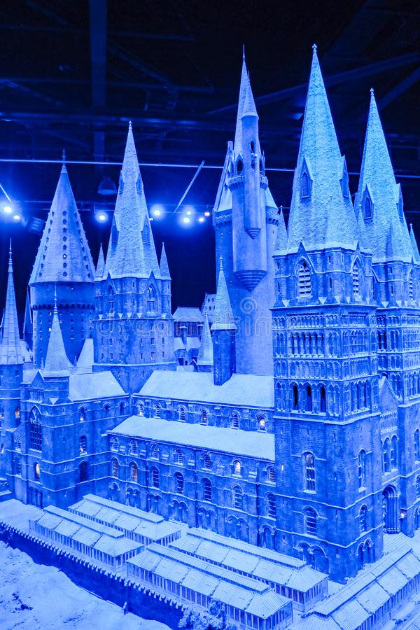 The Making of Harry Potter is a public attraction in Leavesden, London, UK which preserves and showcases the iconic props. Warner Bros. Studio Tour - The Making stock image