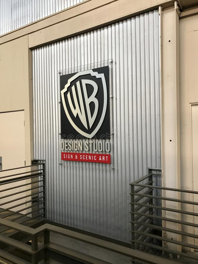 Warner Brothers Studio no LA fotografia de stock royalty free