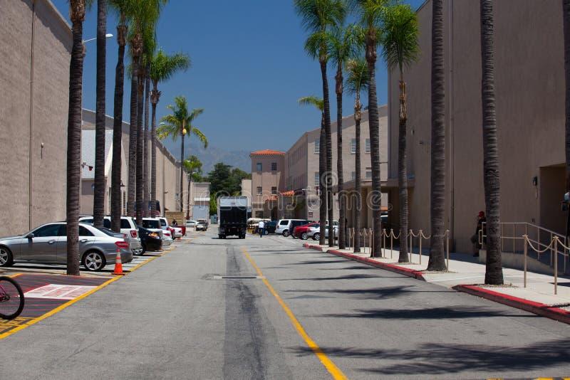 Warner Brothers Studios in Burbank stock images