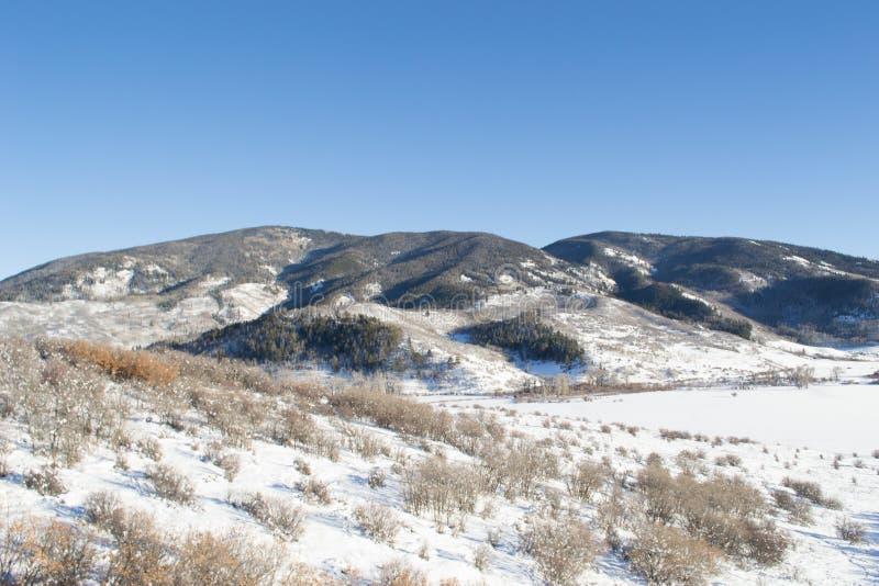 Warner góry panorama obraz stock