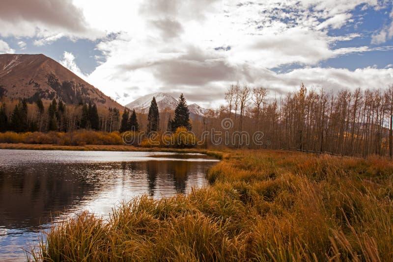 Warner Lake lizenzfreies stockbild