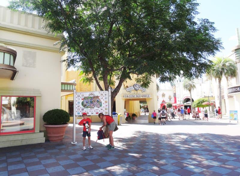 Warner park, Madryt obraz royalty free