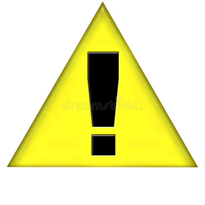 Download Warning stock illustration. Illustration of internet, notice - 114148