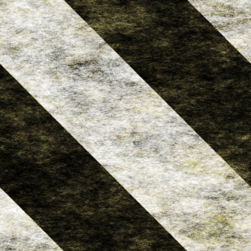 Warning Black&White Hazard Stripes stock photo