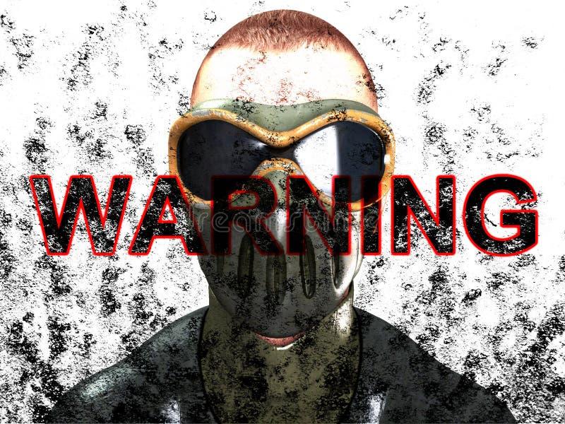 Download Warning Face stock illustration. Illustration of danger - 13459518