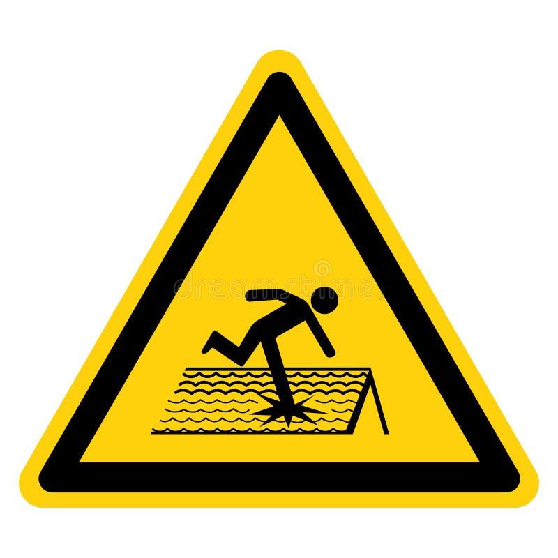 Free Warning Fragile Roof Symbol Sign, Vector Illustration, Isolate On White Background Label. EPS10 Royalty Free Stock Photography - 162055347