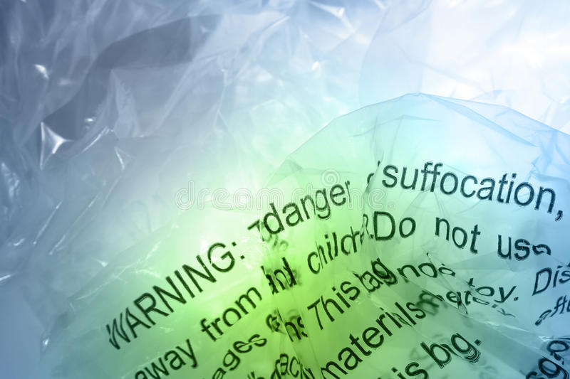 Download Warning On Plastic Royalty Free Stock Images - Image: 24617439