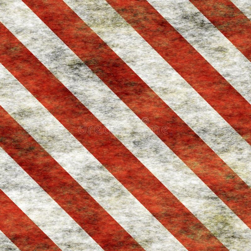 Warning Red&White Hazard Sign royalty free stock photo
