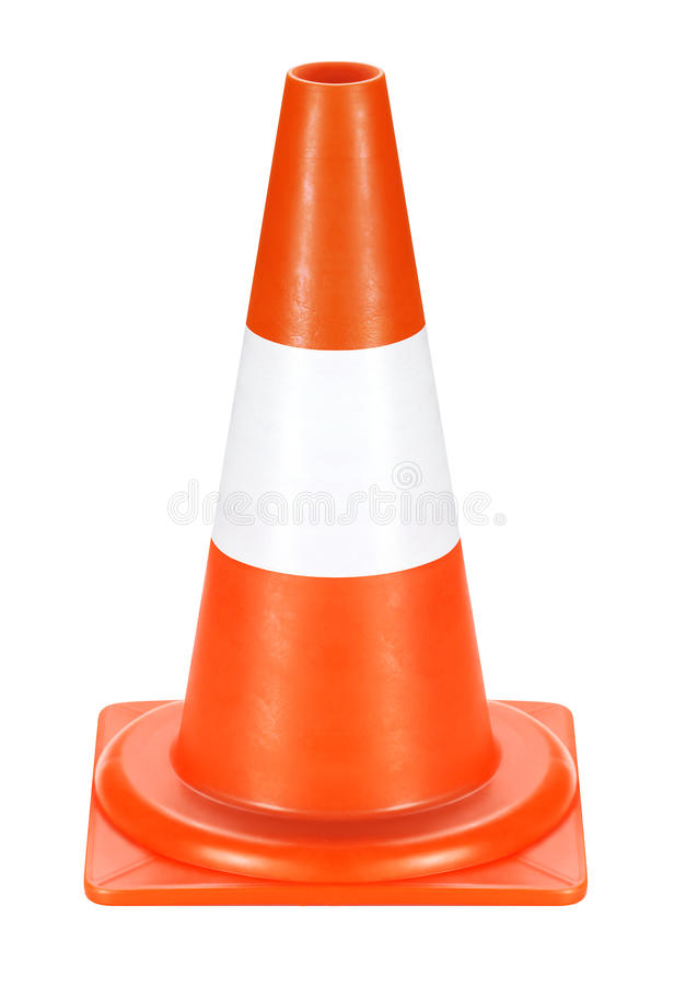 Warning road sign. Conspicuous color warning road sign. Detour, road work, accident, etc. used stock images