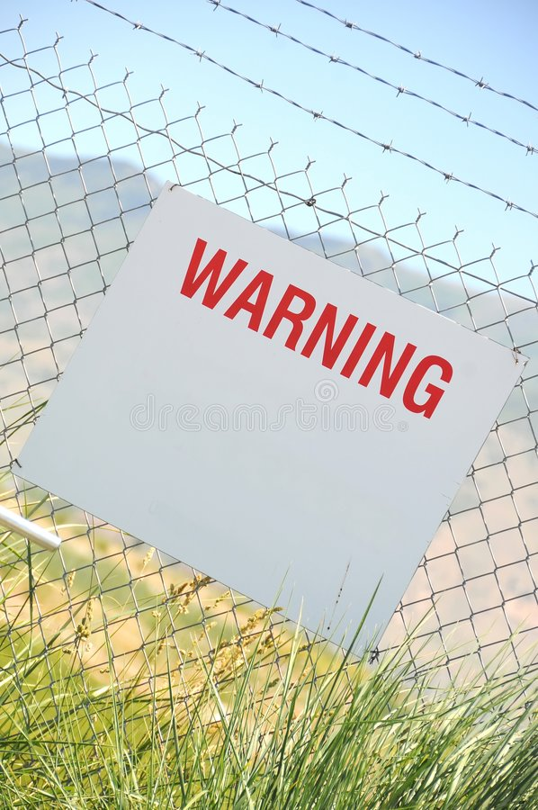 Download Warning Sign Stock Photography - Image: 5501492