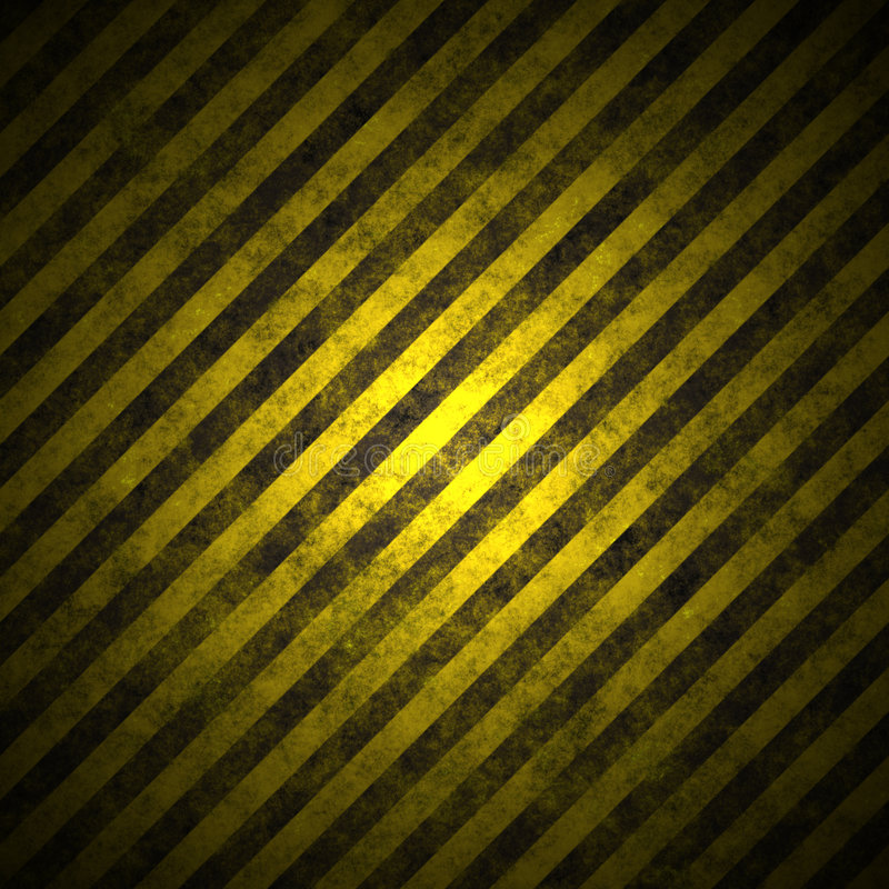 Warning sign on the asphalt 3 royalty free stock photography