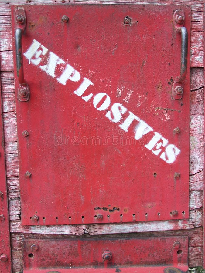 Free Warning Sign Bisbee Arizona Stock Photos - 281043