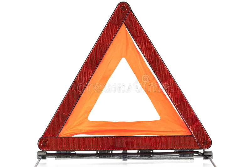 Warning Sign Triangle Stock Photo