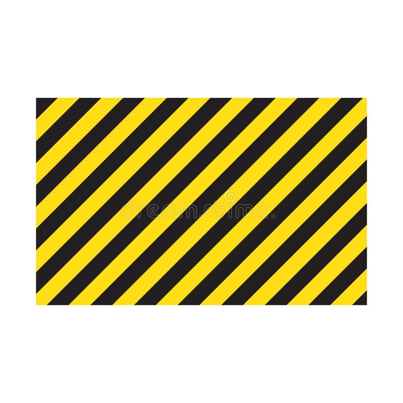 Free Warning Striped Rectangular Background, Yellow And Black Stripes On The Diagonal, A Warning To Be Careful - The Potential Danger V Royalty Free Stock Photography - 150219627