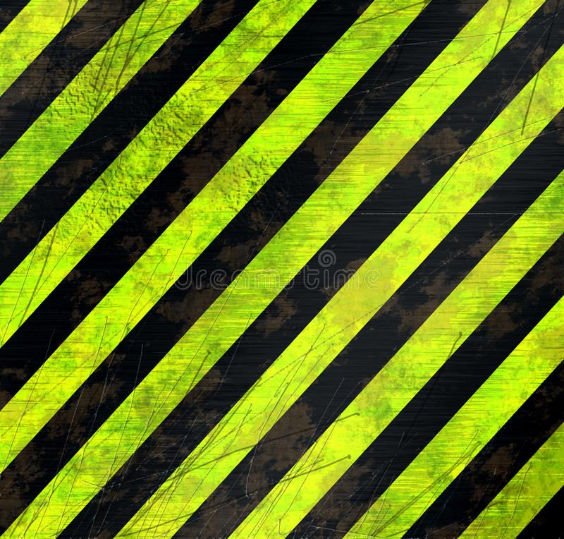 Download Warning stripes stock illustration. Image of yellow, stripes - 12081443