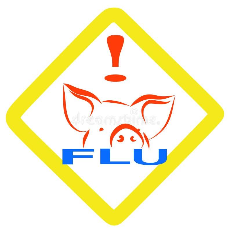 Download Warning Swine Flu Sign Royalty Free Stock Photo - Image: 9200605