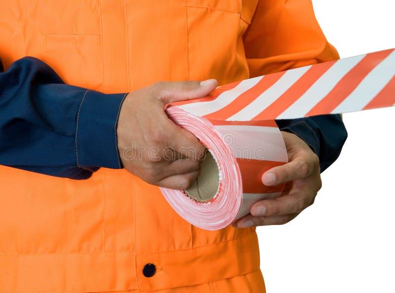 Warning tape royalty free stock images