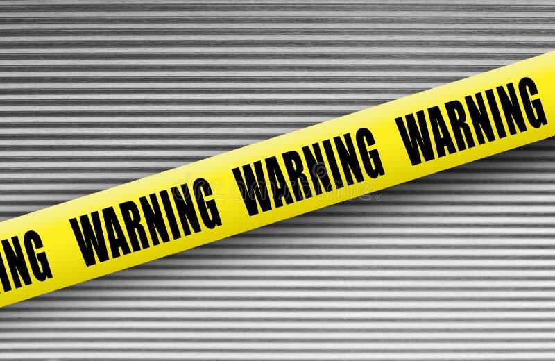 Warning tape royalty free stock photos