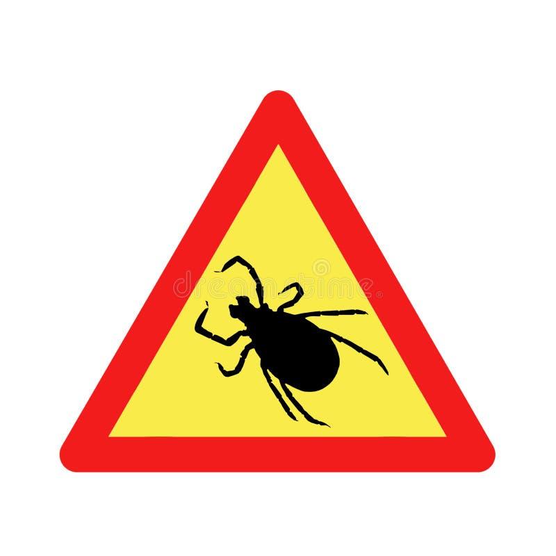 Download Warning before ticks stock illustration. Illustration of warning - 9190352