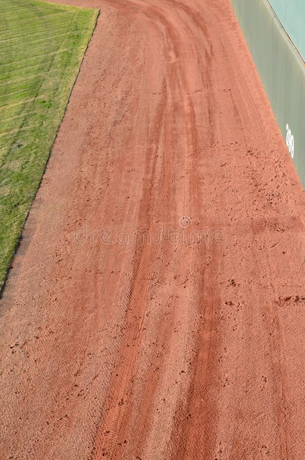 Download The warning track stock image. Image of dirt, recreation - 29400245