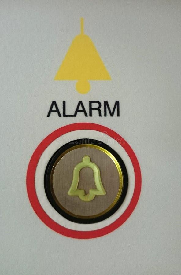 Warnungsknopf lizenzfreie stockfotografie