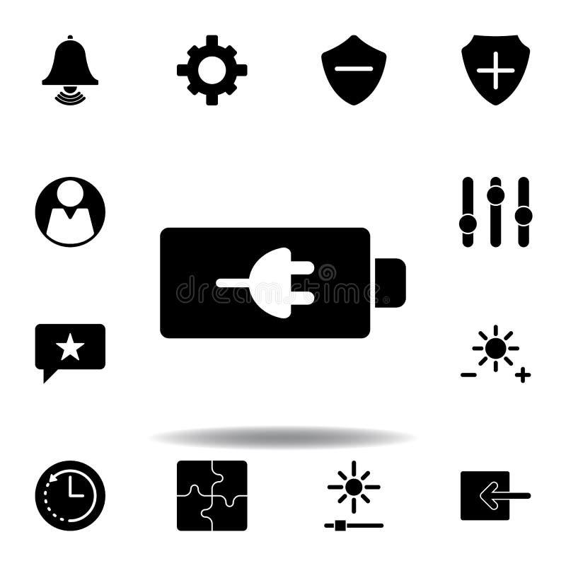 Warnungsmitteilungsikone Zeichen und Symbole k?nnen f?r Netz, Logo, mobiler App, UI, UX verwendet werden stock abbildung