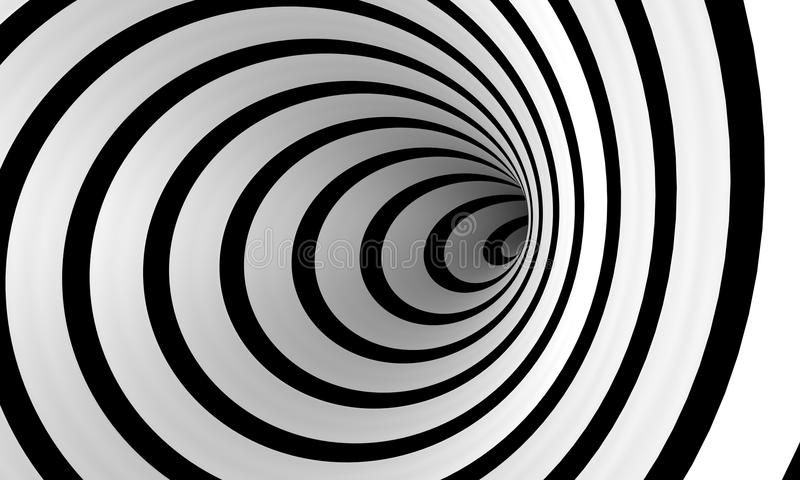 Warped Spiral Royalty Free Stock Photography