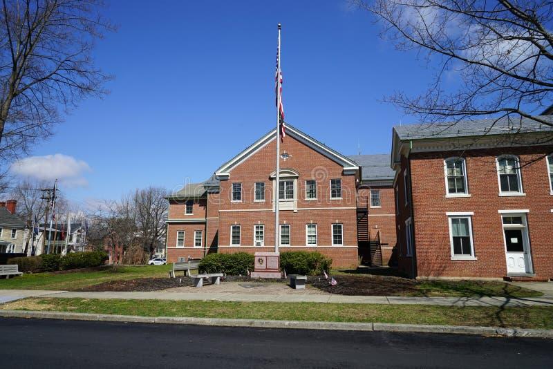 Warren County Courthouse en Belvidere, New Jersey foto de archivo