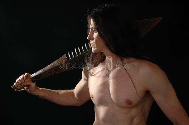 Download Warrior stock photo. Image of sword, male, stud, pectorals - 2019316