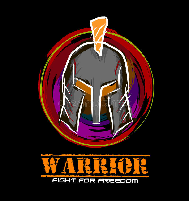 Warrior royalty free stock images