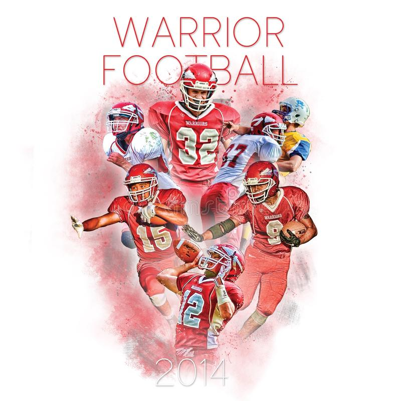 Warrior Football stock images