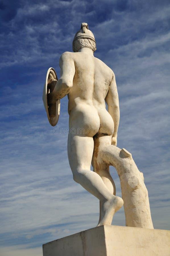 Warrior statue. stock image